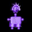 Klicket_Klaws_-_head_body.stl Télécharger fichier STL gratuit Klicket v5 - Klaws Kryptid • Plan pour impression 3D, gotbits