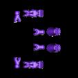 Klicket_Bony_-_hands_feet.stl Download free STL file Klicket v4 - Boney • 3D printer template, gotbits