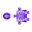 Klicket_Boney_-_head_body.stl Télécharger fichier STL gratuit Klicket v4 - Boney • Plan à imprimer en 3D, gotbits