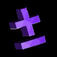 higgsHpmpm.stl Télécharger fichier STL gratuit Modèle standard super-symétrique minimal bosons de Higgs • Objet imprimable en 3D, Mostlydecaf