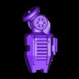 1-100th Defender Layout-HighRez-LeftForearm.stl Télécharger fichier STL gratuit 1/100e de l'échelle Defender Mech • Design pour imprimante 3D, johnbearross