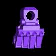 1-100th Defender Layout-HighRez-RightFist.stl Télécharger fichier STL gratuit 1/100e de l'échelle Defender Mech • Design pour imprimante 3D, johnbearross