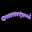Motorhead_Logo_Keychain_MCKO.stl Download free STL file Motorhead Logo Keychain • 3D printable design, mcko