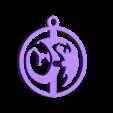 Dragon_Template.stl Télécharger fichier STL gratuit Modèle d'amulette de dragon / fabricant de moules • Modèle à imprimer en 3D, plokr