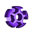 iVertex.stl Download free STL file Icosahedron Model, Pedagogically Stretched • Object to 3D print, LGBU