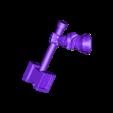 right_arm_v1.stl Download free STL file Dwarf Knight Goat Cavalry Miniatures • 3D print object, Ilhadiel