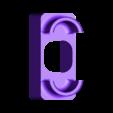 Asus_Cable_Winder.stl Télécharger fichier STL gratuit Enrouleur de câble pour chargeur d'ordinateur portable ASUS • Plan pour imprimante 3D, MaxPoindexter