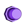 E12_cadelabra_blank_plug.stl Download free STL file Screw-in lightbulb socket filler blank for E12/candelabra base • 3D printable object, cmh