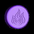 Token_Fire.stl Download STL file Magnetic Escape Room Puzzle Box • Design to 3D print, Osprey