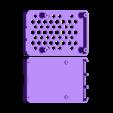 PI4_Case_Compact_Bottom.stl Download free STL file Pi4 Case • Design to 3D print, 3DME