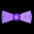 DeathStarDestroyerBowTie_-_Simple.stl Télécharger fichier STL gratuit Cravate de proue du destroyer de l'Étoile de la mort • Modèle pour imprimante 3D, 3DPrintDad