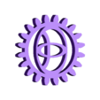 Toyota_Gear.stl Download free STL file TOYOTA GEAR KEY CHAIN • 3D printer template, GREGCAR_3DPrinting