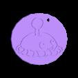 papapum keychain.stl Download free STL file llavero papapum / pvz / papapum keychain • 3D printer template, claulopetegui