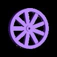 Wheel-Print4x.stl Download free STL file Covered Wagon • 3D printing template, Piggie