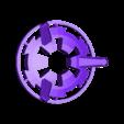 large_stand.stl Télécharger fichier STL gratuit Echo Dot 2 Stand de l'étoile de la mort • Objet à imprimer en 3D, BigRed3234