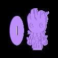 base_groot.STL Télécharger fichier STL gratuit Groot • Plan à imprimer en 3D, bichon205