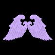 Angel Wings 2 .stl Download free OBJ file Wings • 3D print model, quaddalone