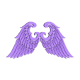 Angel Wings 2 .obj Download free OBJ file Wings • 3D print model, quaddalone