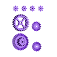GB03-gears.stl Download free STL file Fully printable Monster Truck • 3D printer design, tahustvedt