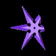 6_point_ninja_star_illusion.stl Download free STL file Halloween Ninja Star Illusion • 3D printer object, 3DPrint2
