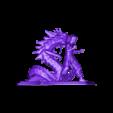 Bruce_Lee NEW.obj.stl Télécharger fichier STL dragon bruce lee • Modèle imprimable en 3D, walades