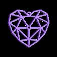 """Corazon Final.stl Télécharger fichier STL gratuit J'ai dit : """"Cœur. • Plan pour impression 3D, InnovaPro"""