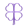 TrebolF.stl Télécharger fichier STL gratuit Pendentif en trèfle • Plan pour impression 3D, InnovaPro