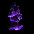 Goku_SS3_02.stl Télécharger fichier STL gratuit Goku Super Saiyan III Dragon Ball Z • Design pour imprimante 3D, Gatober