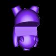 Piggy phone stand_fat.stl Download free STL file Piggy Phone Stand • 3D printable design, c47