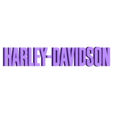 white.stl Download free STL file Harley Davidson Ashtray • 3D printable template, cedrichaefliger