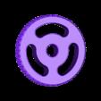 Knob_Insert_Nut_M4.STL Télécharger fichier STL gratuit Nouvelle motion linéaire pour Prusa i4 • Objet imprimable en 3D, perinski