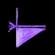 Mast_and_Sail.stl Télécharger fichier STL gratuit Voile et mât pour radeau - jeu 28mm • Plan à imprimer en 3D, ec3d