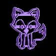 zorro 3d oficial.stl Télécharger fichier STL gratuit L'emporte-pièce du renard des forêts • Design pour impression 3D, Abayarde