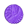 """Alien_Hive_-_1_inch_-_B.stl Download free STL file 1"""" & 2' Round Bases - The Ignis Quadrant • 3D printing template, ec3d"""