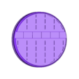"""Grid_-_1_inch_-_C.stl Download free STL file 1"""" & 2' Round Bases - The Ignis Quadrant • 3D printing template, ec3d"""