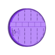 """Grid_-_1_inch_-_B.stl Download free STL file 1"""" & 2' Round Bases - The Ignis Quadrant • 3D printing template, ec3d"""