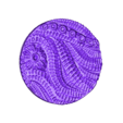 """Alien_Hive_-_2_inch_-_B.stl Download free STL file 1"""" & 2' Round Bases - The Ignis Quadrant • 3D printing template, ec3d"""