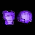 lego_iron_man_helmet.stl Télécharger fichier STL gratuit lego iron man helmet (remix) • Modèle pour impression 3D, boninj