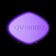 Big_Blue_Pill_-_OVERKILL.stl Télécharger fichier STL gratuit La grande pilule bleue v2 • Objet imprimable en 3D, michelj