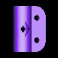 """18mm_Stake_Mid_v2.stl Télécharger fichier STL gratuit Poteau de piquetage pour la pêche en kayak (1/2"""" EMT) • Plan à imprimer en 3D, LilMikey"""