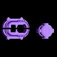 muzzle_and_pot.stl Download free STL file Big Plasma Cannon Turret • 3D printing design, JtStrait72