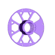 Kiwi3D_Masterspool_outer_v2.stl Download free STL file Kiwi3D.co.nz 1KG refill coil Master spool • 3D print template, Kiwi3D