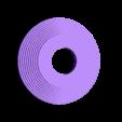 Spool_holder_medium_ribbed.stl Télécharger fichier STL gratuit 20/20 Porte-bobine et pince • Modèle pour imprimante 3D, LionFox