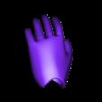 9_hidarite_left hand_rev2.stl Télécharger fichier STL gratuit Poupée de 52 cm 1/3 à joint magnétique, style Kasca • Design imprimable en 3D, all-kasca