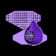 MaskwithMegaFilterRevB-printplate.stl Télécharger fichier STL gratuit Masque respiratoire v2 • Objet pour imprimante 3D, ThinkSolutions