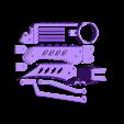 medium WITH HOLES plate.stl Télécharger fichier STL Doigts et pouces de robot et MISE À JOUR avec parties de doigts plus longues 3 tailles • Design à imprimer en 3D, LittleTup