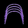 Universal_Covid19_FaceShield_NEW_x4.stl Download free STL file Universal Covid-19 Face Shield • Design to 3D print, DimensionArg