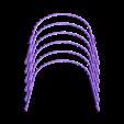 Universal_Covid19_FaceShield_NEW_x6.stl Download free STL file Universal Covid-19 Face Shield • Design to 3D print, DimensionArg