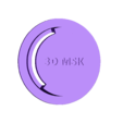 V4_004.stl Download free STL file 3DvsCOVID19 Exhalation Valve Diy Mask 3D Printed MSK P1 P2 P3 Corona Virus  • 3D printer model, Othmane