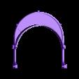 Protector_v1_030.STL Download free STL file COVID-19 Visor Protection • 3D printing model, solete2k1